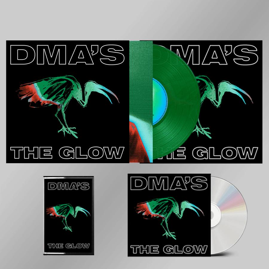 Buy Online DMA'S - THE GLOW CD + Heavyweight Green Transparent Vinyl + Cassette