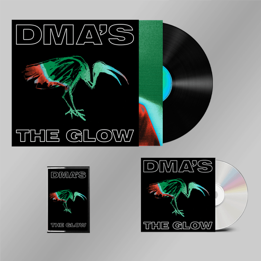 Buy Online DMA'S - THE GLOW CD + Heavyweight Black Vinyl + Cassette