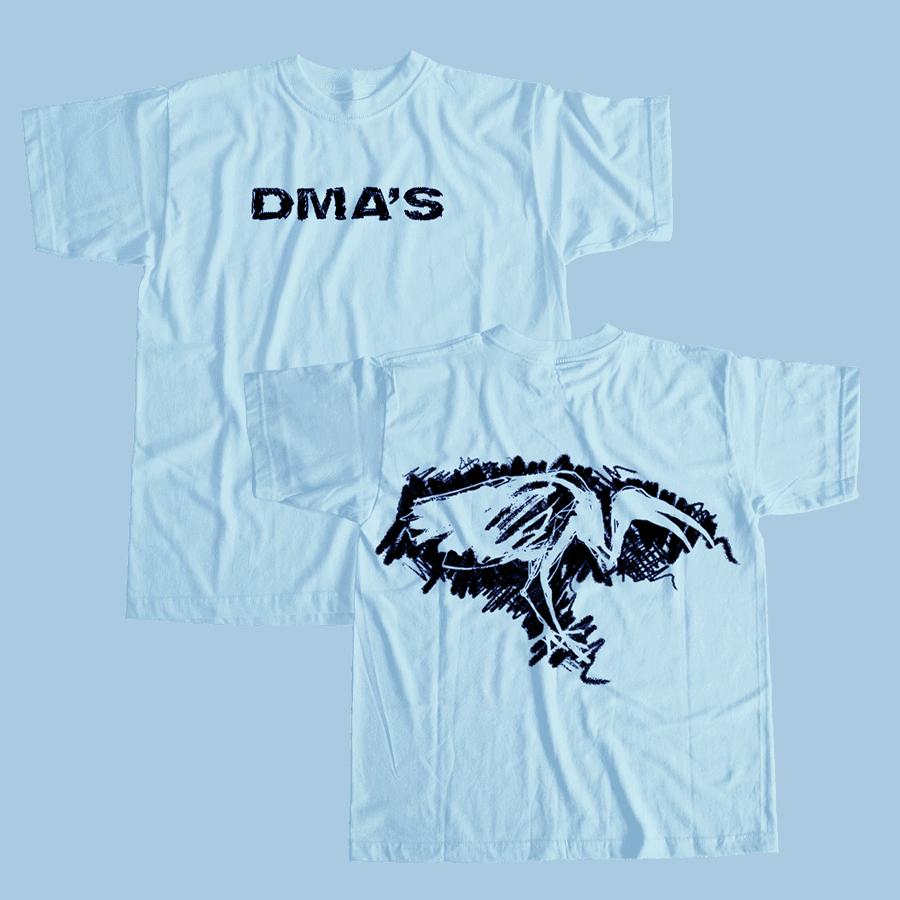 Buy Online DMA'S - Reverse Ibis Sky Blue T Shirt