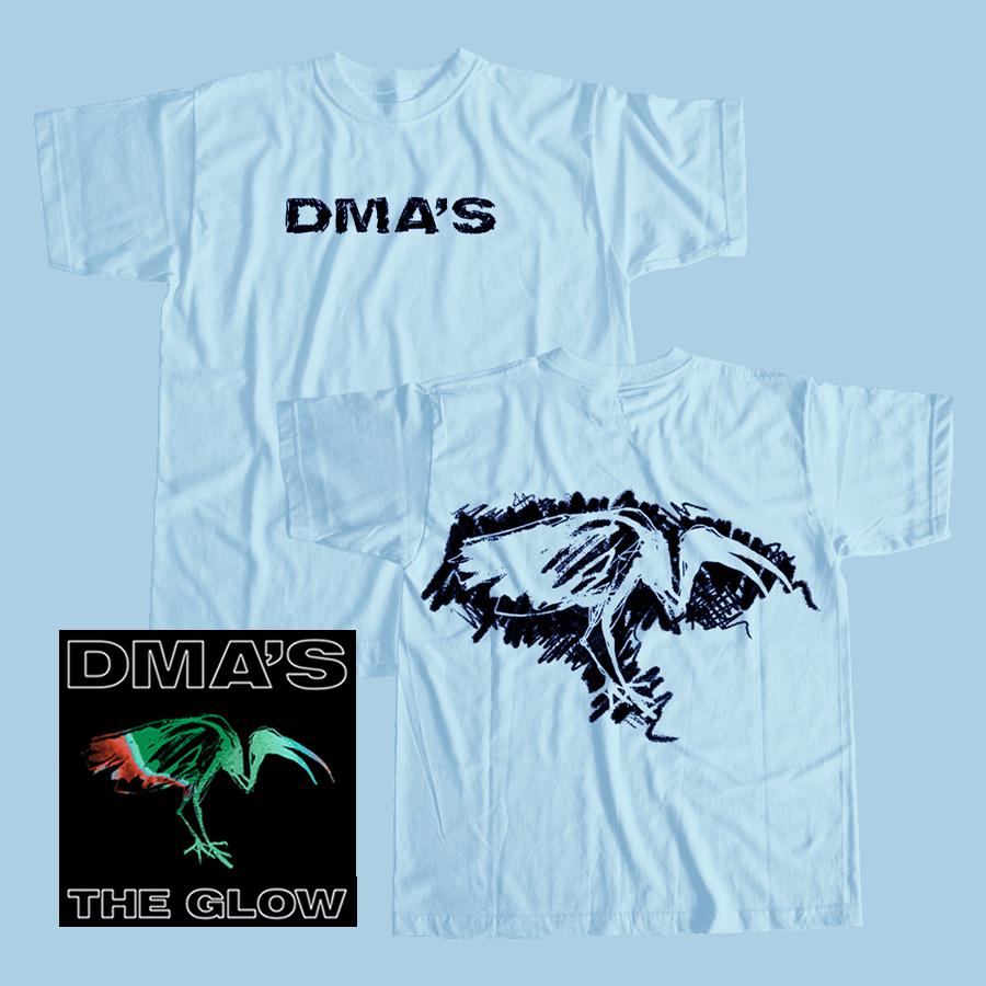 Buy Online DMA'S - The Glow Download (Deluxe) + REVERSE IBIS SKY BLUE T SHIRT