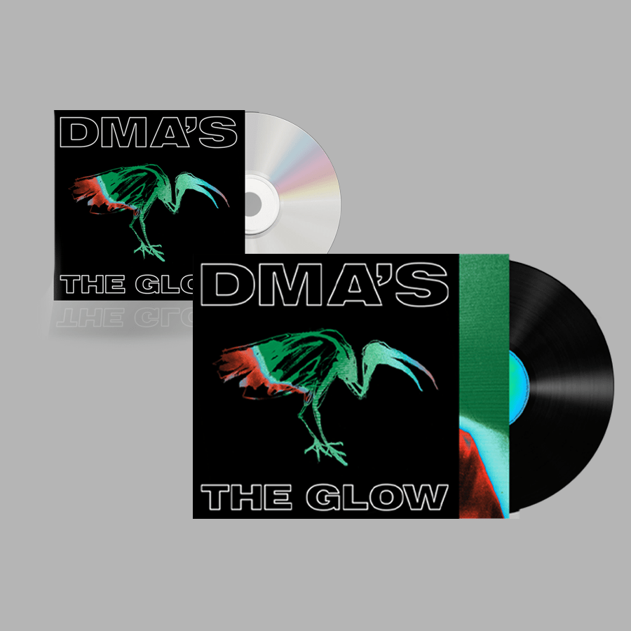 Buy Online DMA'S - THE GLOW CD + THE GLOW Heavyweight Black Vinyl
