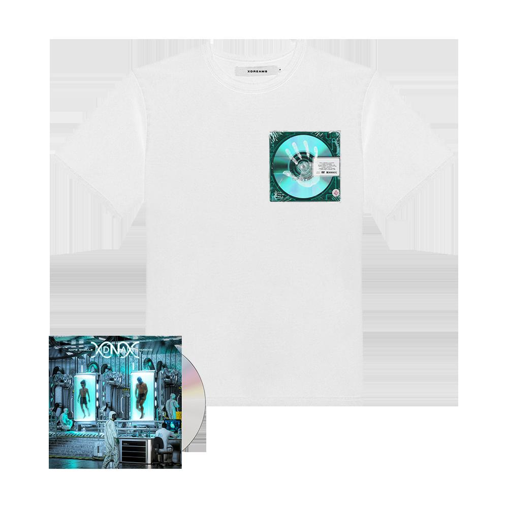 Buy Online M Huncho & Nafe Smallz - DNA - Da New Age: Mixtape CD + DNA Disc T-Shirt