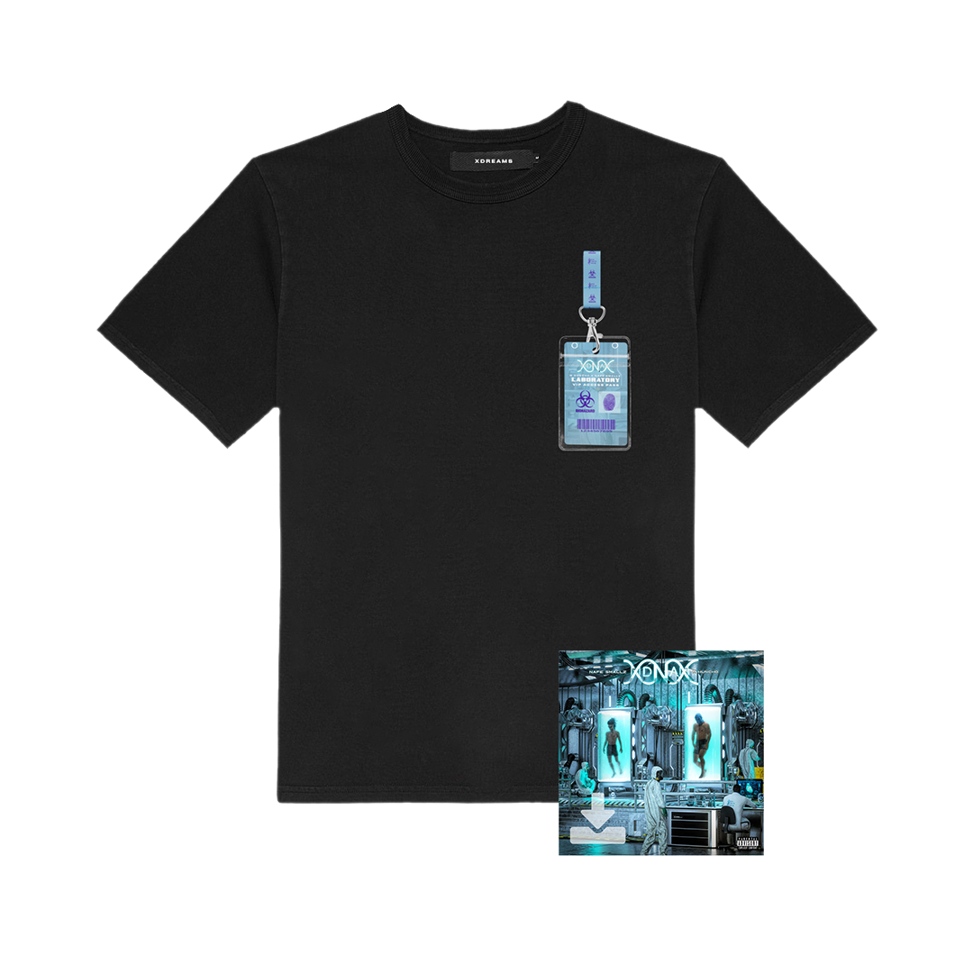 Buy Online M Huncho & Nafe Smallz - DNA - Da New Age: Mixtape Digital Album + DNA Laminate T-Shirt