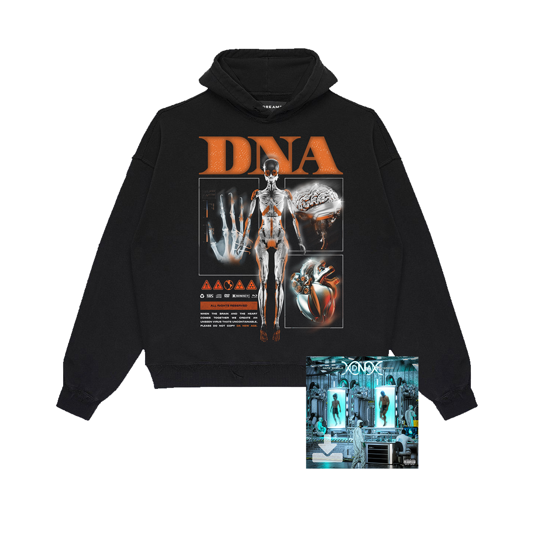 Buy Online M Huncho & Nafe Smallz - DNA - Da New Age: Mixtape Digital Album + DNA Hoody