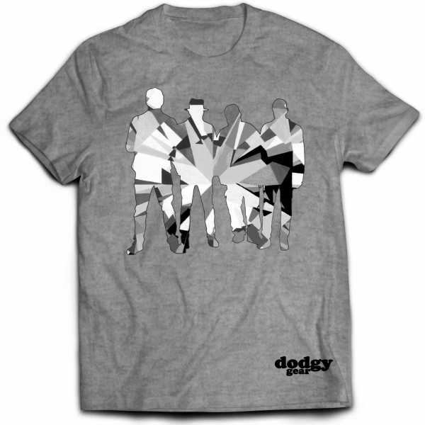 Buy Online Dodgy - Diamond Dodgy Monochrome T-Shirt (Limited Edition)