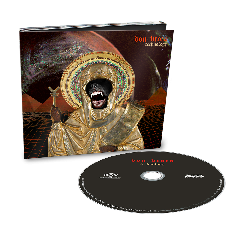 Buy Online Don Broco - Technology DigiPak Deluxe CD Album