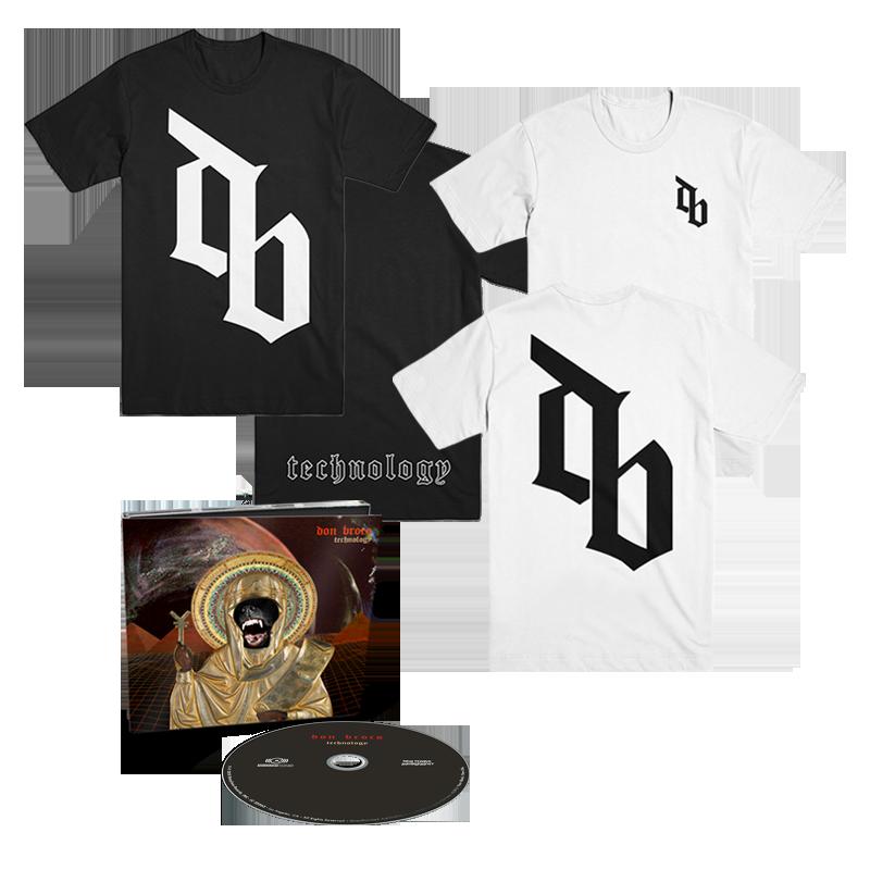Buy Online Don Broco - Technology DigiPak Deluxe CD + DB T-Shirt