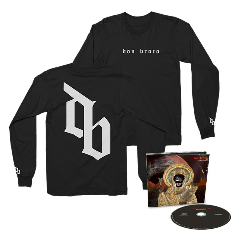 Buy Online Don Broco - Technology DigiPak Deluxe CD + Long Sleeve T-Shirt