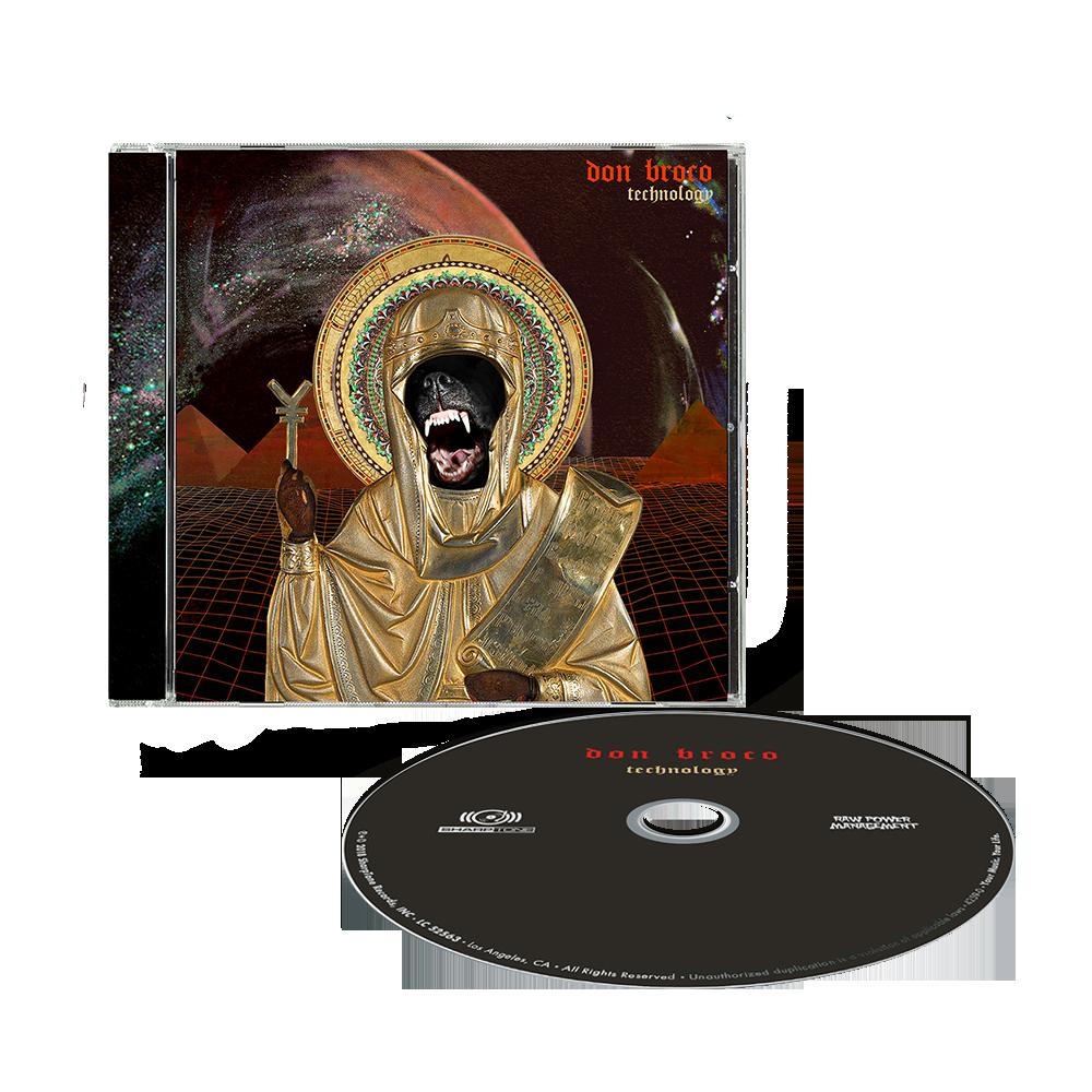 Buy Online Don Broco - Technology Jewel Case CD Album (Standard Edition)