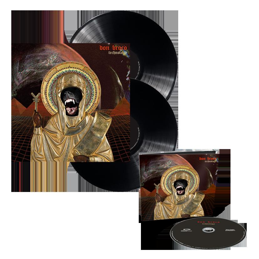 Buy Online Don Broco - Technology DigiPak Deluxe CD + Black Vinyl LP