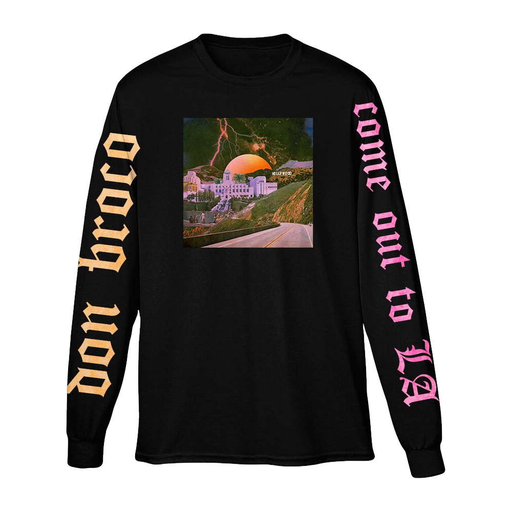 Buy Online Don Broco - Come Out To LA Long Sleeve T-Shirt