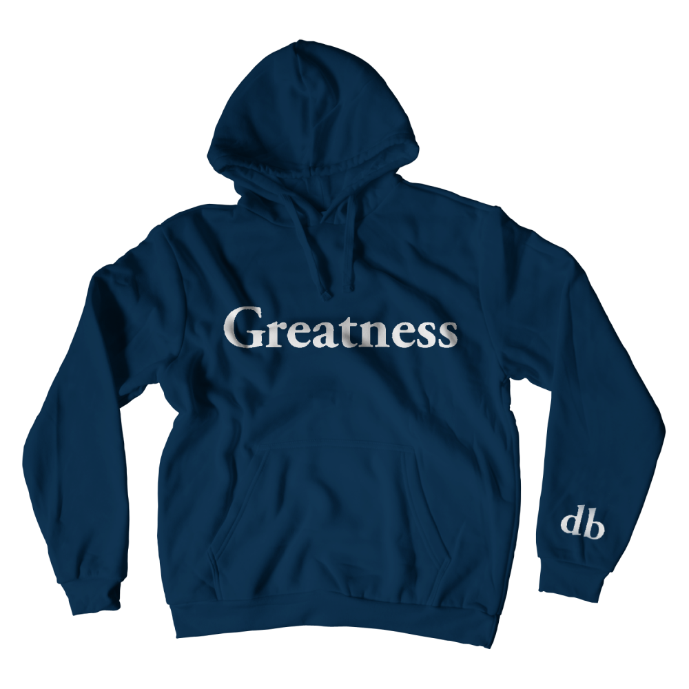 Buy Online Don Broco - Greatness Hoodie (Navy)