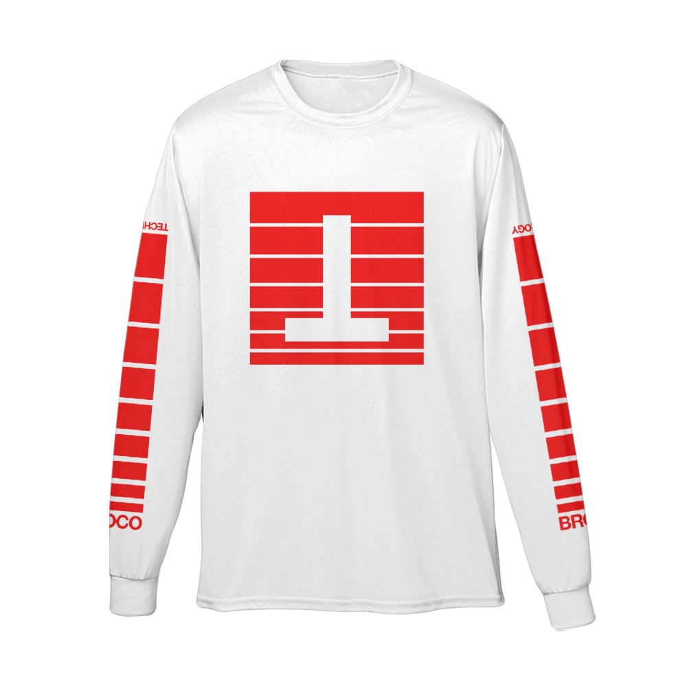 Buy Online Don Broco - Tour Long Sleeve T-Shirt (White)
