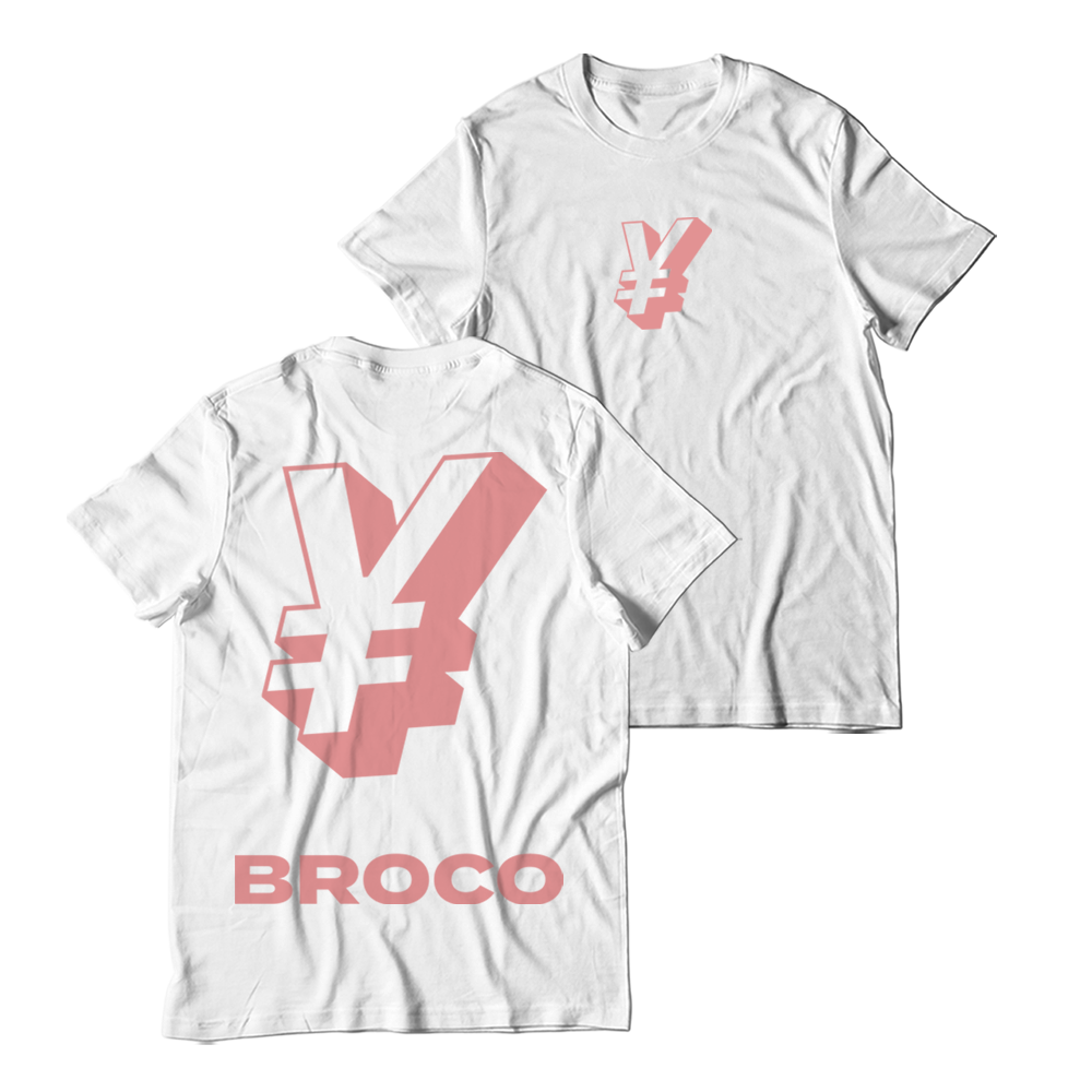 Buy Online Don Broco - ¥ T-Shirt (White)