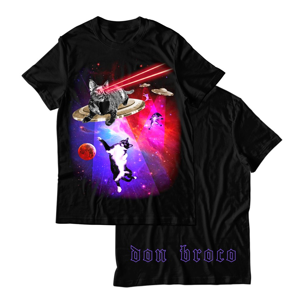Buy Online Don Broco - Cats In Space T-Shirt