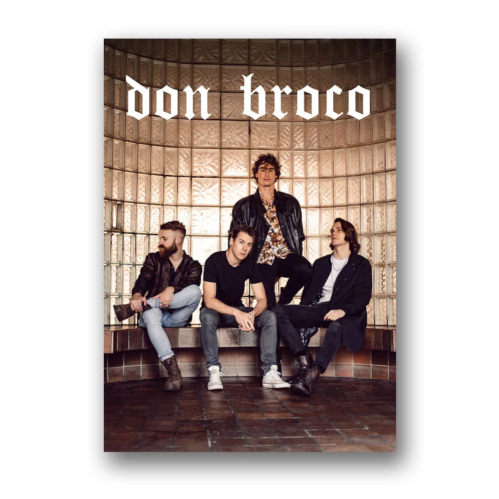 Buy Online Don Broco - Don Broco Poster