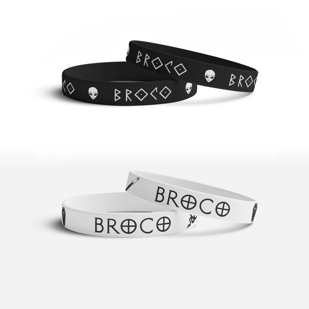 Buy Online Don Broco - Cowboys Vs Aliens Wristband Bundle