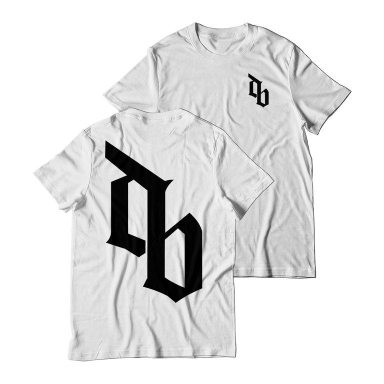 Buy Online Don Broco - DB T-Shirt (White)