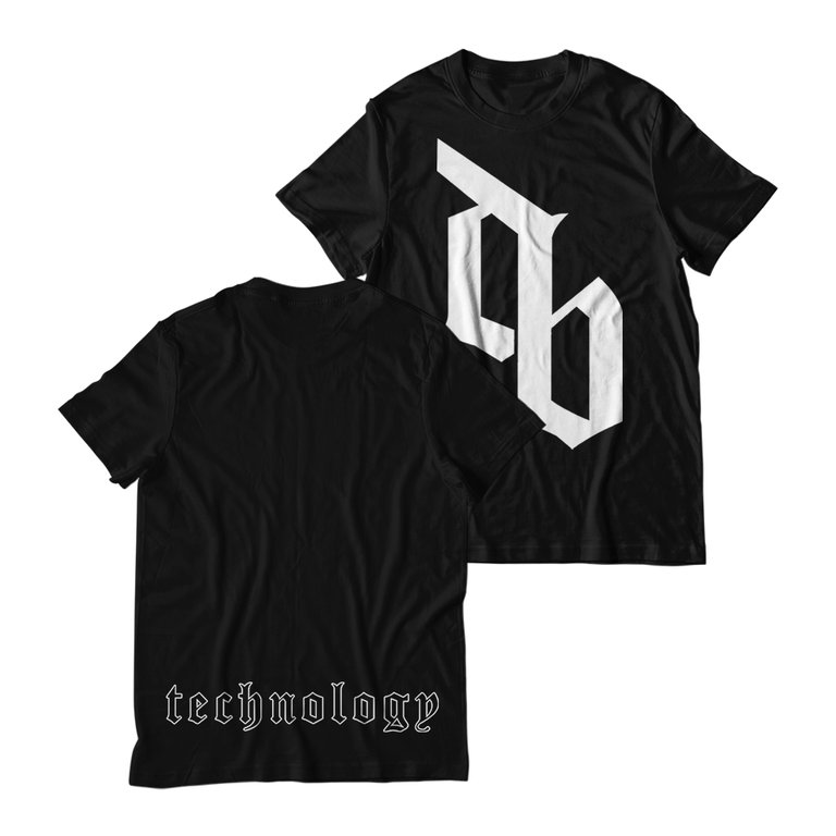 Buy Online Don Broco - DB T-Shirt (Black)