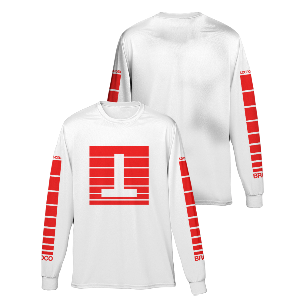 Buy Online Don Broco - Technology Long Sleeve T-Shirt
