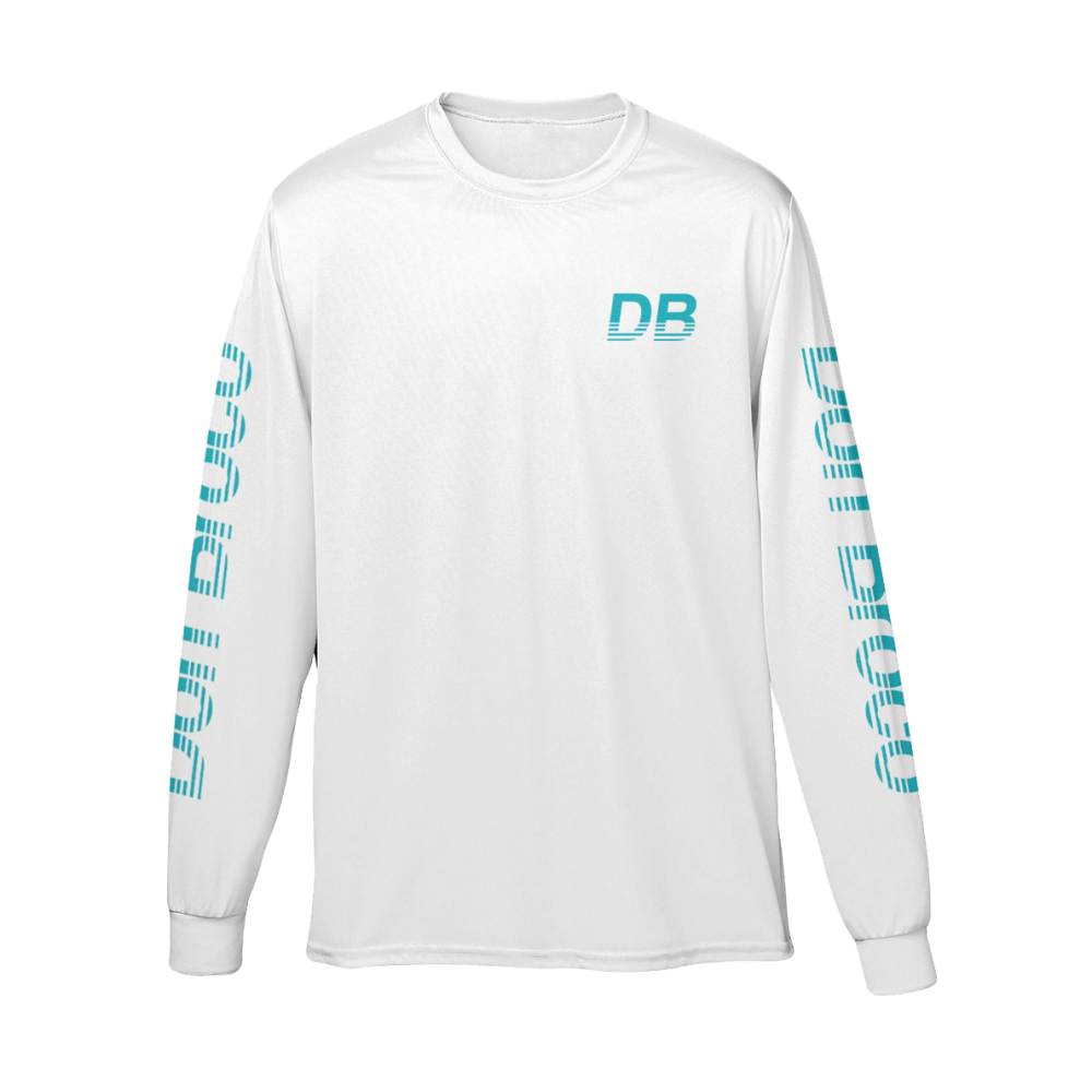 Buy Online Don Broco - Retro Long Sleeve T-Shirt