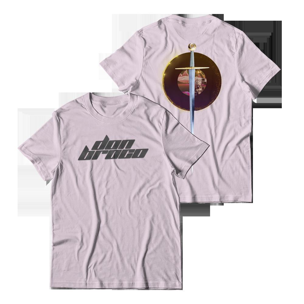 Buy Online Don Broco - Pink Sword T-Shirt
