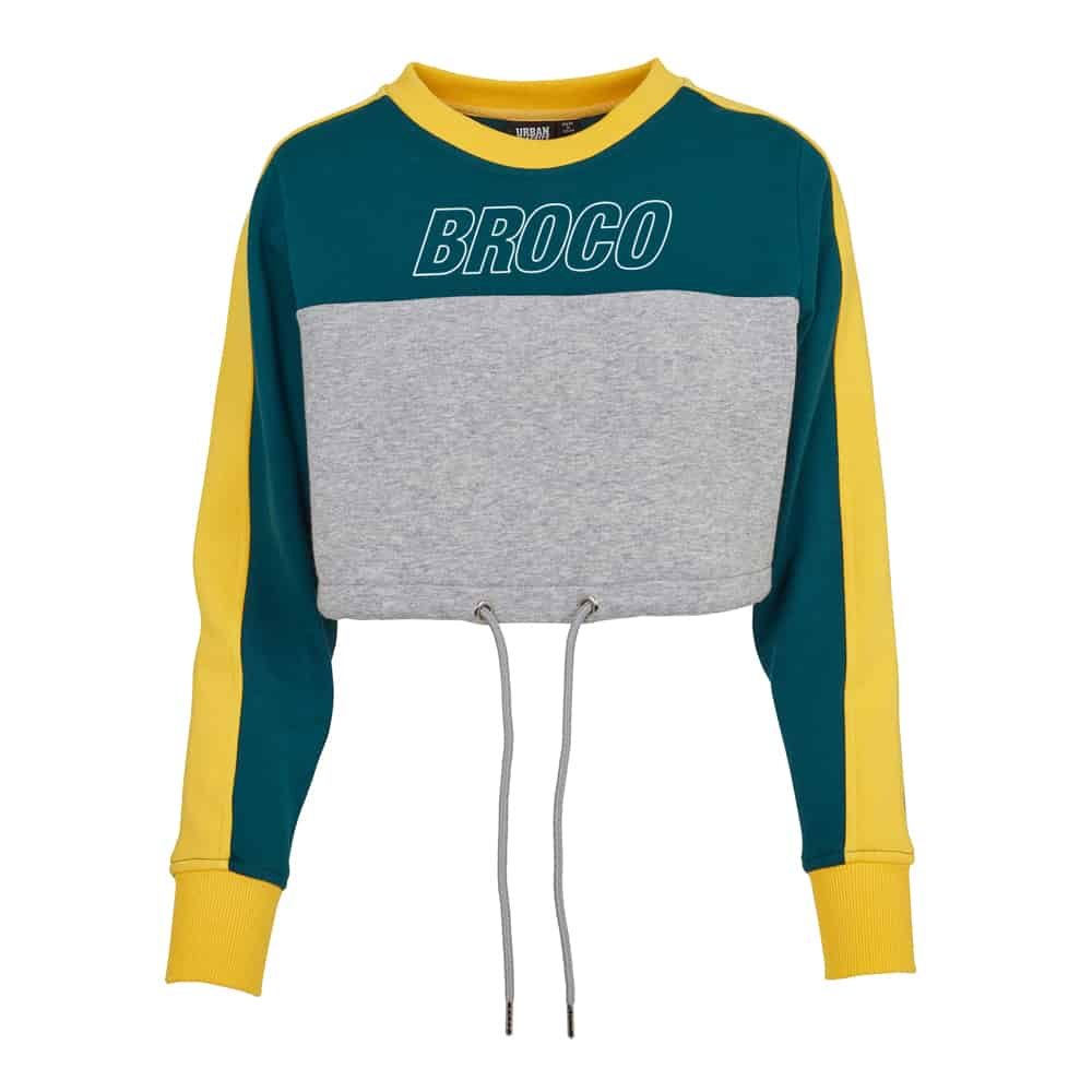 Buy Online Don Broco - Broco Girls Cropped Sweat
