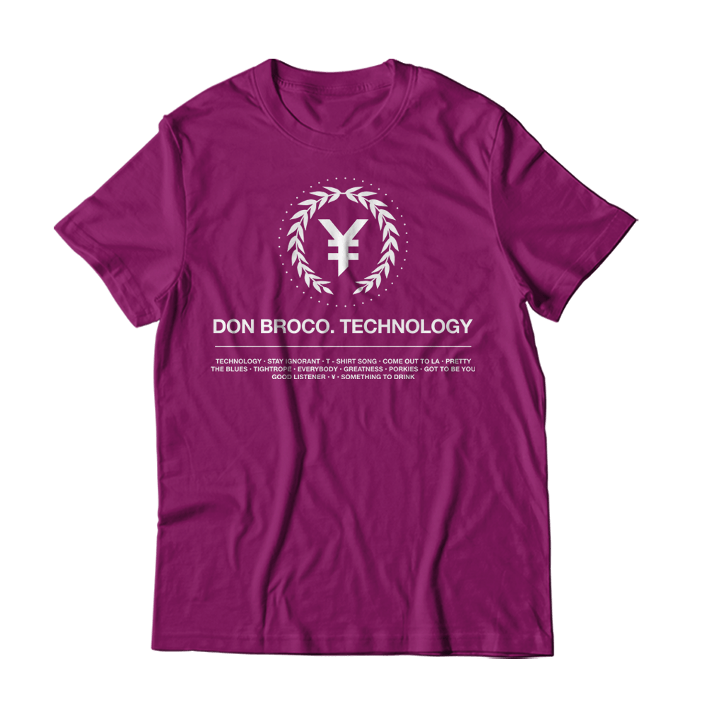 Buy Online Don Broco - ¥ Wreath T-Shirt