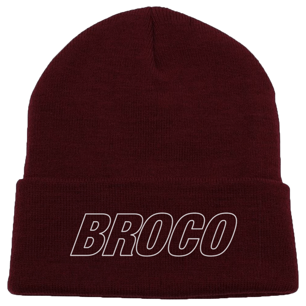 Buy Online Don Broco - Beanie (Burgundy)