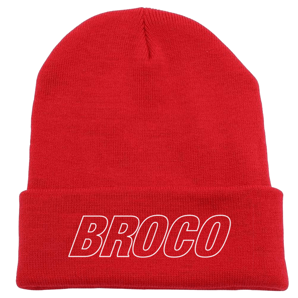 Buy Online Don Broco - Beanie (Classic Red)