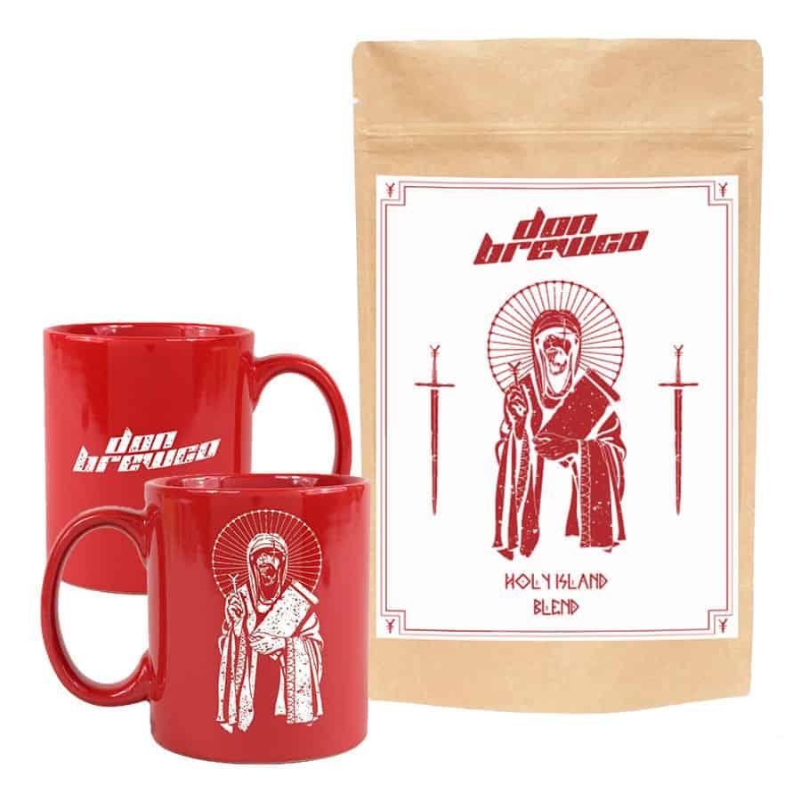 Buy Online Don Broco - Don Brewco Red Mug + Holy Island Coffee