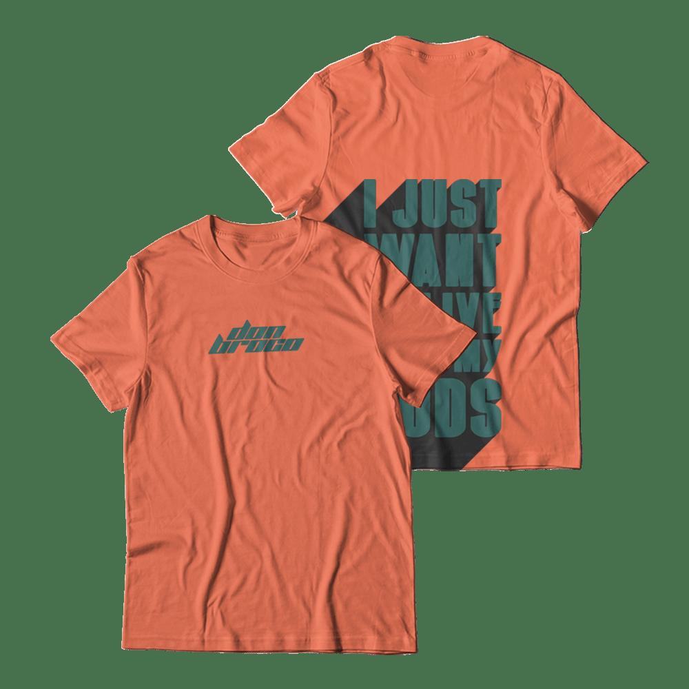Buy Online Don Broco - Half Man Half God T-Shirt
