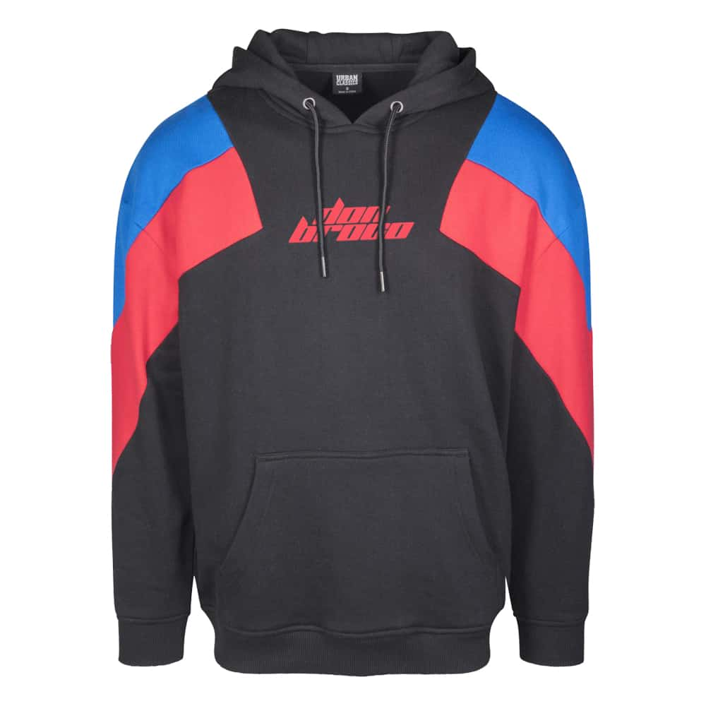 Buy Online Don Broco - Premium Red Two Tone Hoodie