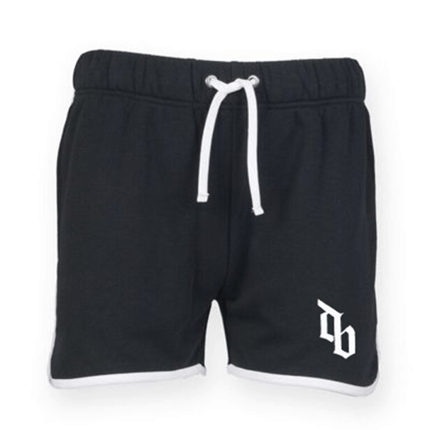 Buy Online Don Broco - Mens Black DB Shorts