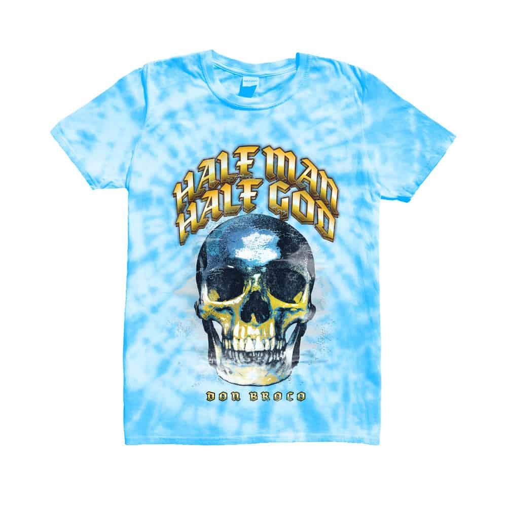 Buy Online Don Broco - Half Man Half God Tie Dye T-Shirt