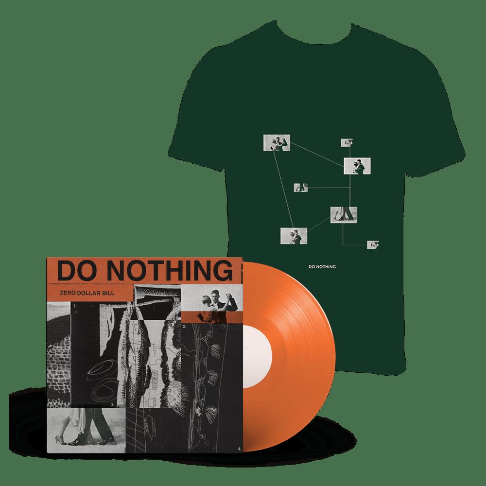 Buy Online Do Nothing - Zero Dollar Bill EP Vinyl + T-Shirt