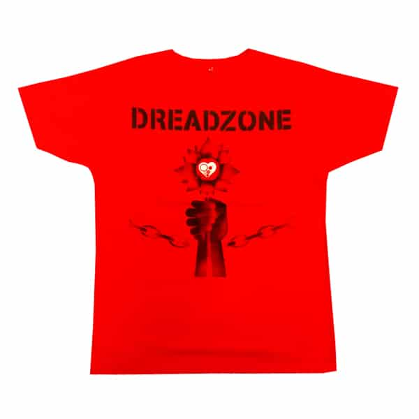 Buy Online Dreadzone - Dreadzone Red T-Shirt