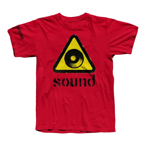 Buy Online Dreadzone - Ladies Red Sound T-Shirt