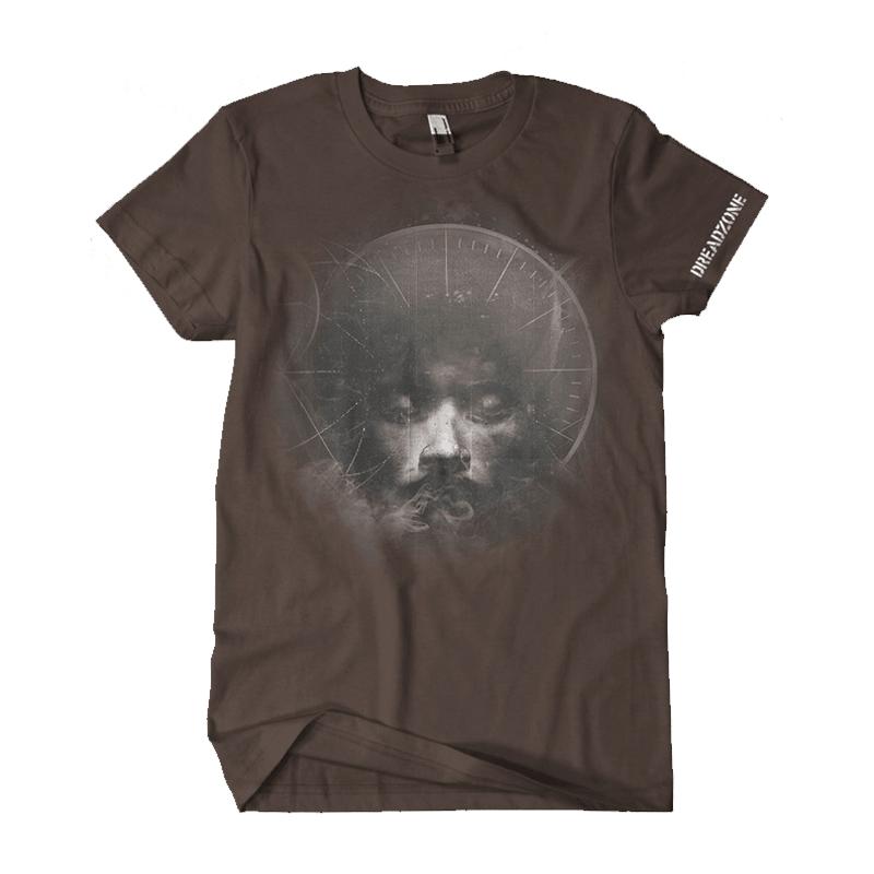 Buy Online Dreadzone - Dread Times Brown T-Shirt