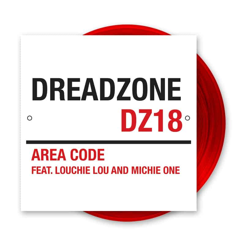 Buy Online Dreadzone - Area Code Feat. Louchie Lou & Michie One 12-Inch Vinyl (Ltd Edition Deep Red Colour)