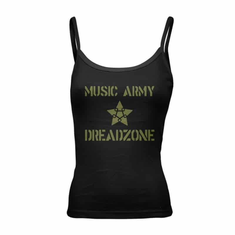 Buy Online Dreadzone - Music Army Vest (Ladies)