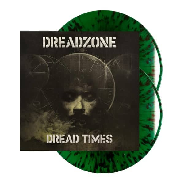 Buy Online Dreadzone - Dread Times Double Green Splatter Vinyl