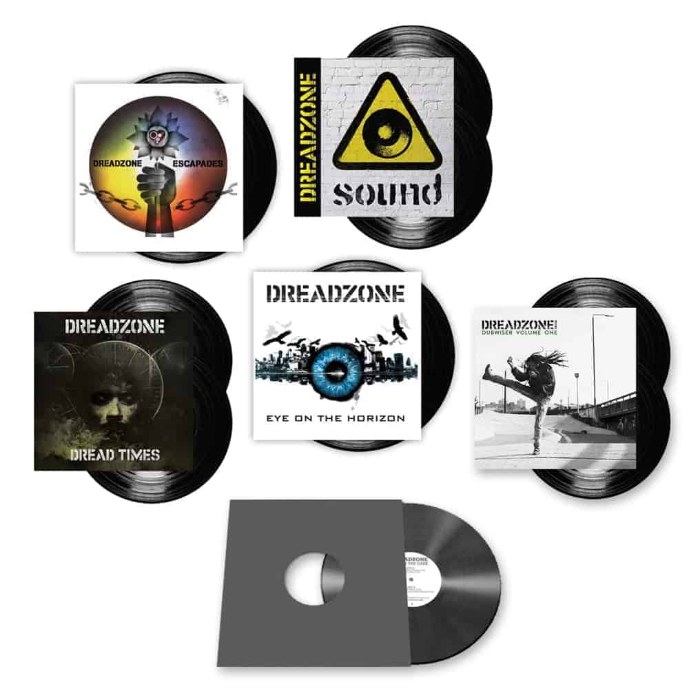 Buy Online Dreadzone - Eye On The Horizon + Dread Times + Sound + Escapades Black Vinyl Bundle