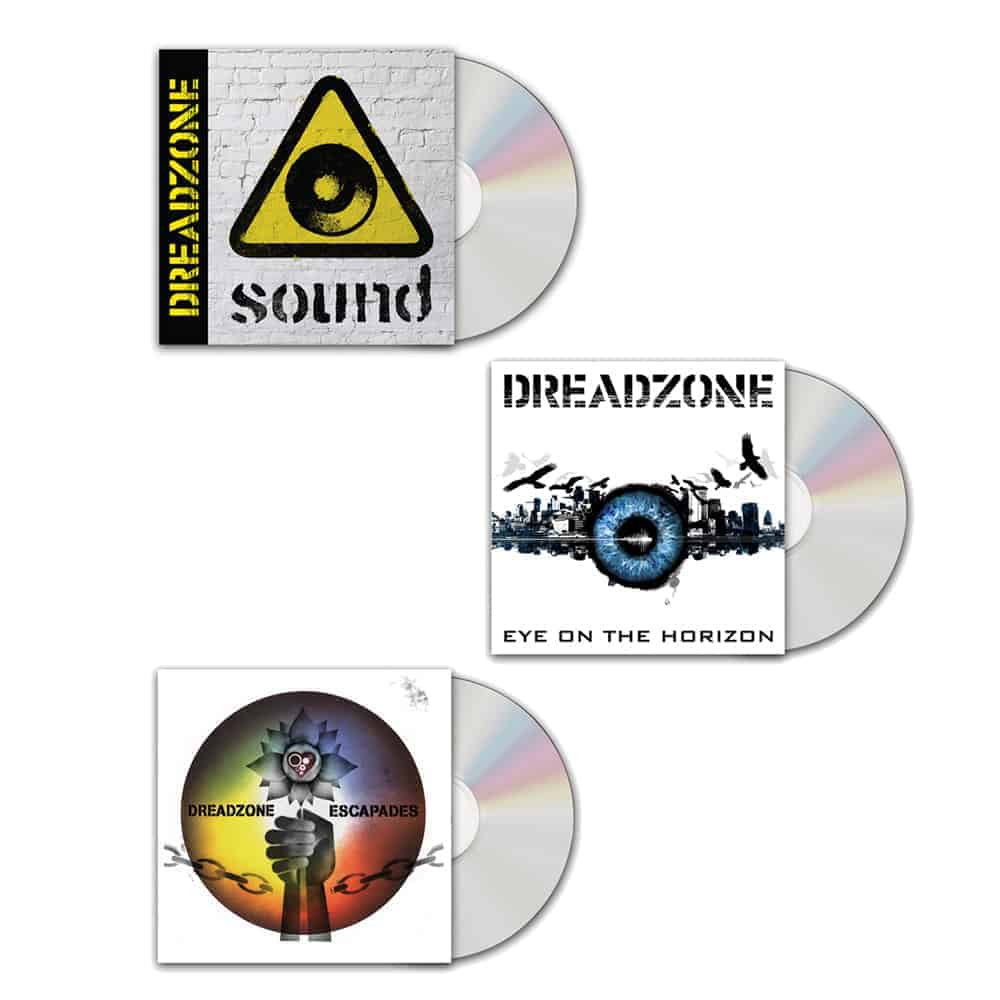 Buy Online Dreadzone - Sound + Eye On The Horizon + Escapades CD Bundle
