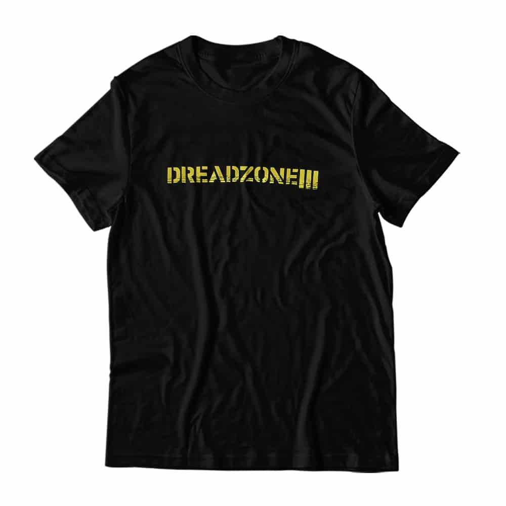 Buy Online Dreadzone - Dreadzone Yellow Logo T-Shirt