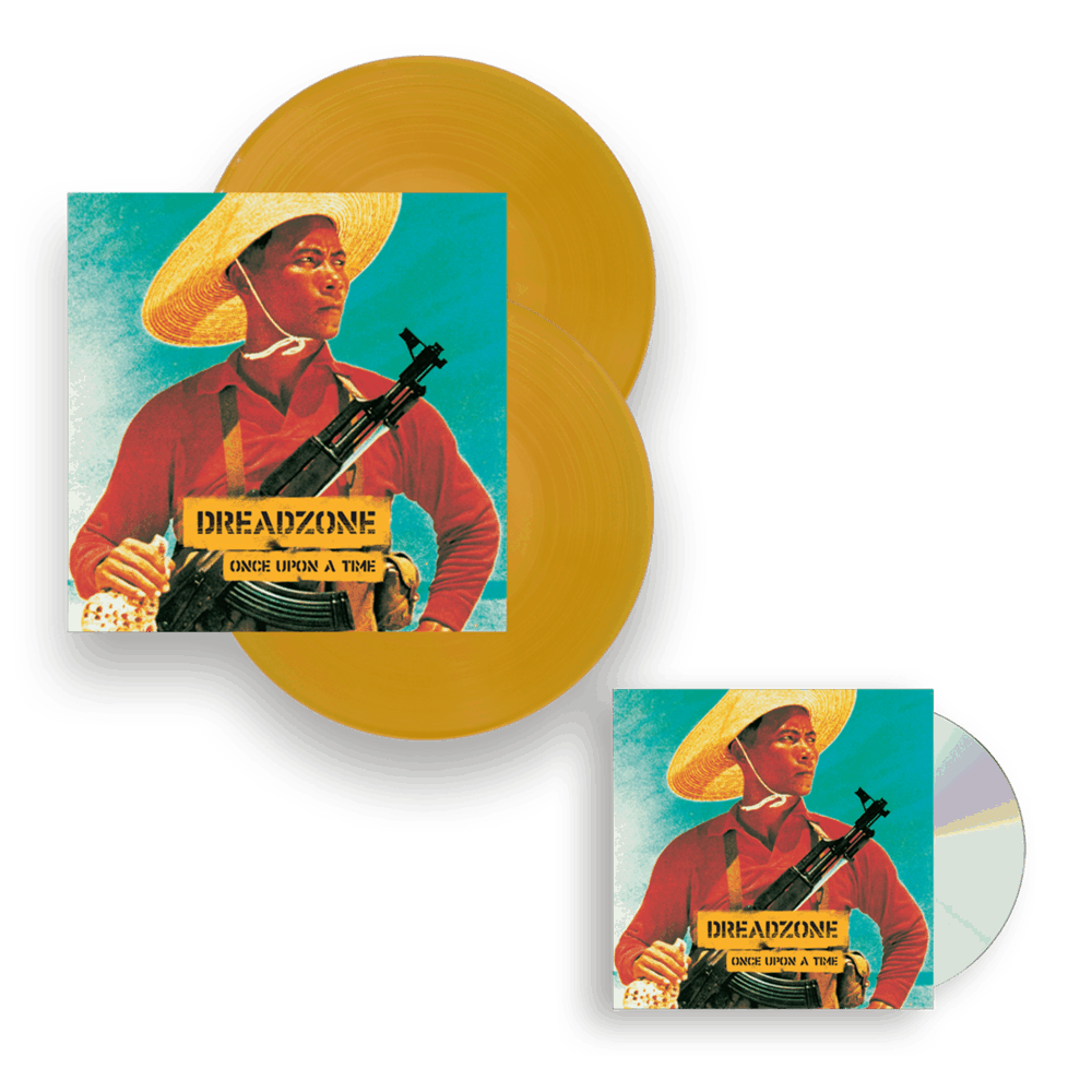 Buy Online Dreadzone - Once Upon A Time Coloured Double Vinyl + CD