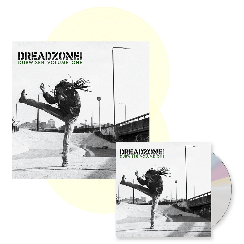 Buy Online Dreadzone - Dreadzone Presents Dubwiser Vol. One Milky Clear Double Vinyl + CD Album