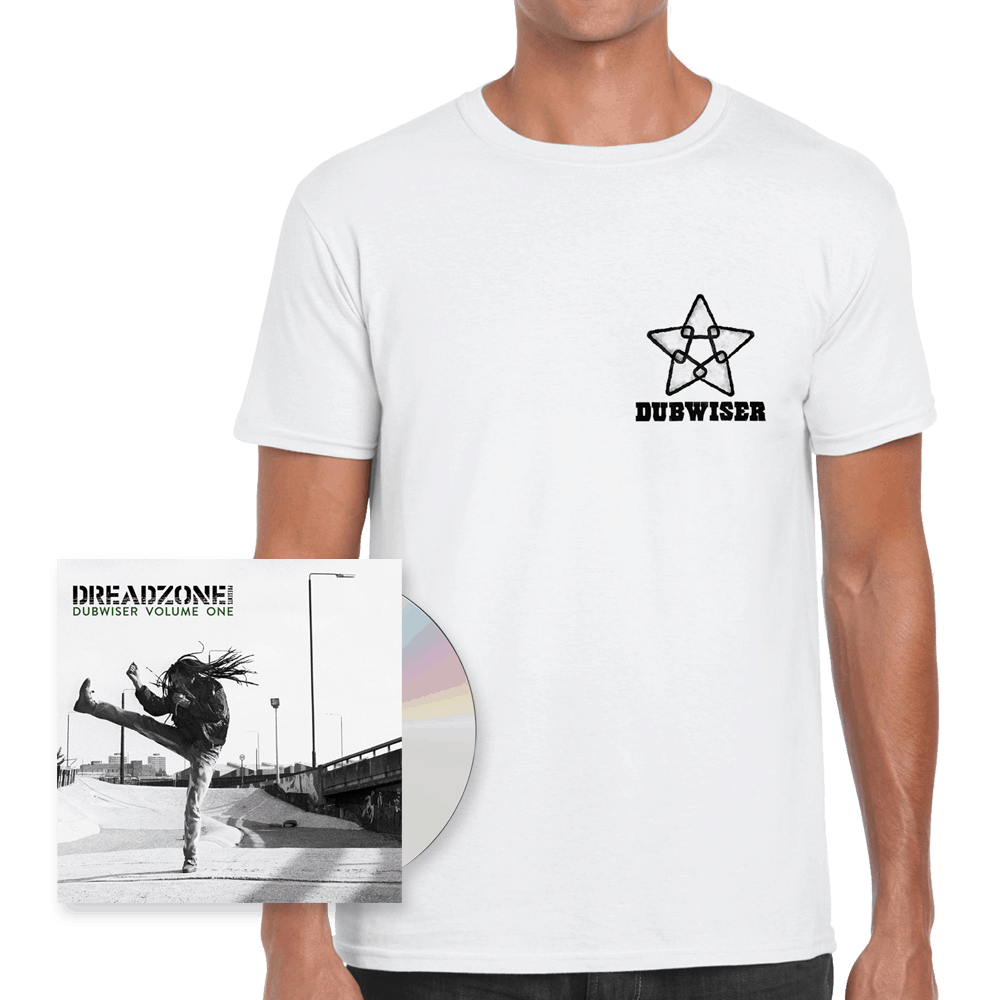 Buy Online Dreadzone - Dreadzone Presents Dubwiser Vol. One CD Album + T-Shirt