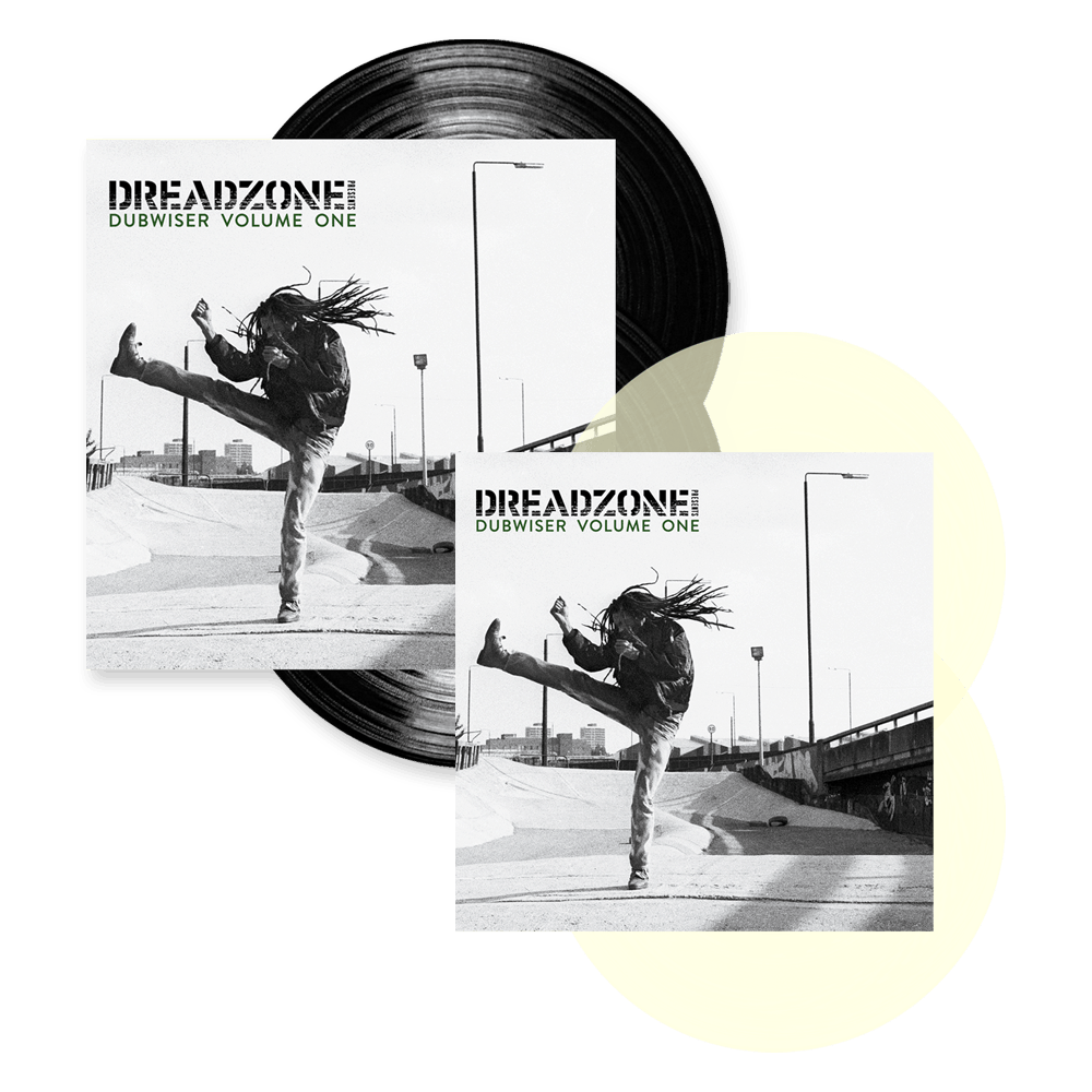 Buy Online Dreadzone - Dreadzone Presents Dubwiser Vol. One Milky Clear Double Vinyl + Black Double Vinyl