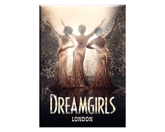 Buy Online Dream Girls West End - Logo London Magnet